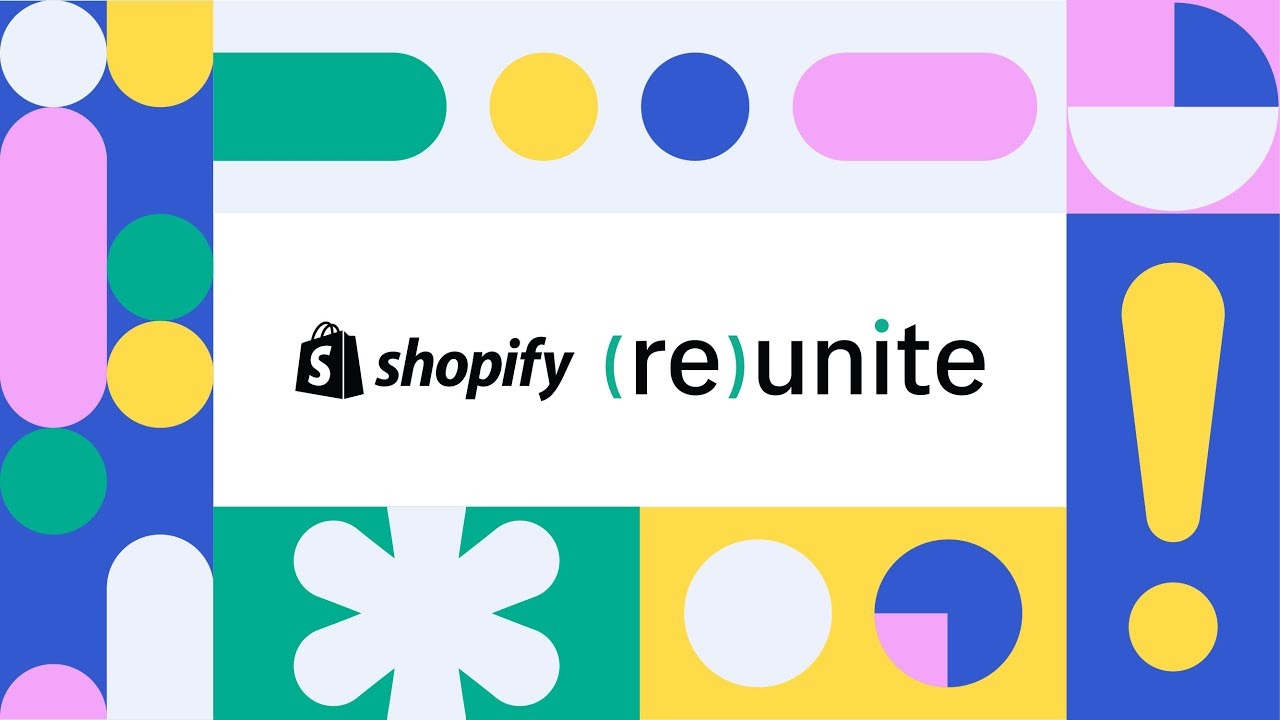 shopify reunite 2020 Facebook Shop