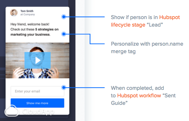 Smart CTA for HubSpot automation